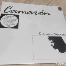 Discos de vinilo: CAMARÓN* – TE LO DICE CAMARÓN-LP-EDICION LIMITADA VINILO COLOR-NUEVO PRECINTADO-LP-. Lote 241279705