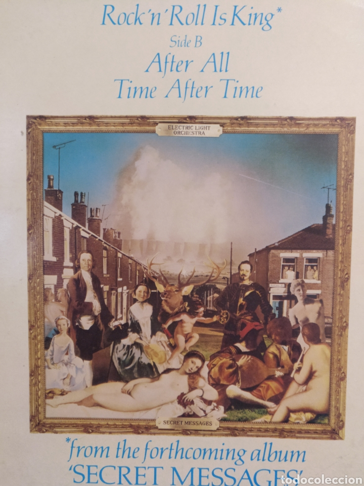 Discos de vinilo: ELECTRIC LIGHT ORCHESTRA.** ROCK AND ROLL IS KING * AFTER ALL * TIME AFTER TIME ** - Foto 2 - 264304276