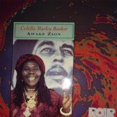 Discos de vinilo: CEDELLA MARLEY BOOKER.** AWAKE ZION **. Lote 264305928