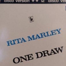 Discos de vinilo: RITA MARLEY.** ONE DRAW * BEAUTY OF GOD'S PLAN **. Lote 264306704