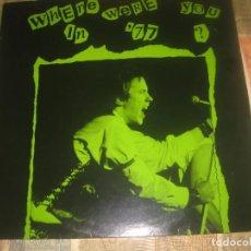 Discos de vinilo: SEX PISTOLS WHERE WERE YOU IN '77' -(1985 WARNER BROS) EDITADO ENGLAND. Lote 264307588