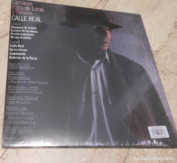 Discos de vinilo: CAMARON -CALLE REAL- EDICION LIMITADA VINILO DE COLOR-NUEVO PRECINTADO-LP- - Foto 2 - 264309004