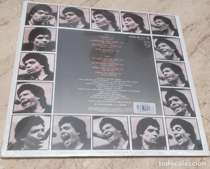 Discos de vinilo: CAMARON -VIVIRE- EDICION LIMITADA VINILO DE COLOR-NUEVO PRECINTADO-LP- - Foto 2 - 264309508