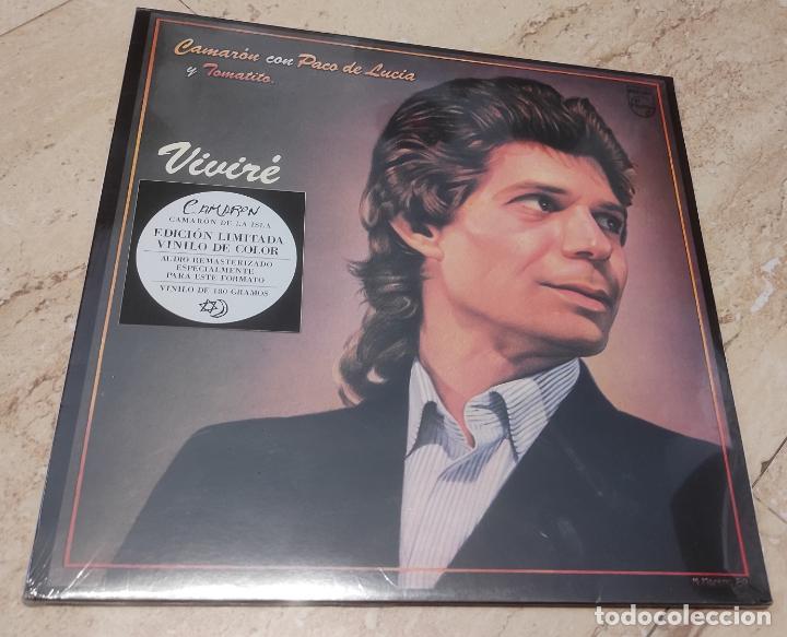 CAMARON -VIVIRE- EDICION LIMITADA VINILO DE COLOR-NUEVO PRECINTADO-LP- (Música - Discos - LP Vinilo - Flamenco, Canción española y Cuplé)