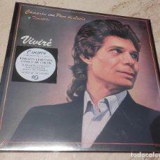 Discos de vinilo: CAMARON -VIVIRE- EDICION LIMITADA VINILO DE COLOR-NUEVO PRECINTADO-LP-. Lote 264309508