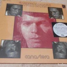 Discos de vinilo: CAMARON -CANASTERA- EDICION LIMITADA VINILO DE COLOR-NUEVO PRECINTADO-LP-. Lote 264309784