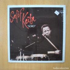 Disques de vinyle: SALIF KEITA - SORO - LP. Lote 264319840