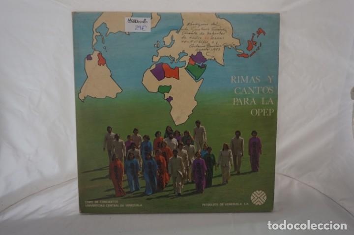 # VINILO 12´´ - 2 X LP - RIMAS Y CANTOS PARA LA OPEP - RHYMES AND SONGS FOR OPEC (Música - Discos - LP Vinilo - Otros estilos)