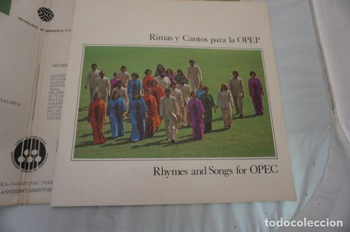 Discos de vinilo: # VINILO 12´´ - 2 X LP - RIMAS Y CANTOS PARA LA OPEP - RHYMES AND SONGS FOR OPEC - Foto 3 - 264326244