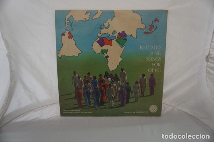 Discos de vinilo: # VINILO 12´´ - 2 X LP - RIMAS Y CANTOS PARA LA OPEP - RHYMES AND SONGS FOR OPEC - Foto 7 - 264326244