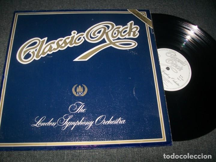 CLASSIC ROCK - THE LONDON SYMPHONY ORCHESTRA - LP - K-TEL - PORTADA GATEFOLD MUY DIFICIL (Música - Discos - LP Vinilo - Orquestas)