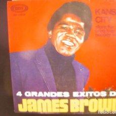 Discos de vinilo: JAMES BROWN- KANSAS CITY. EP.. Lote 264342704