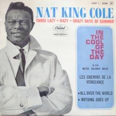 Discos de vinilo: NAT KING COLE EP SELLO CAPITOL EDITADO EN FRANCIA.... Lote 264345680