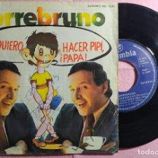 "Discos de vinilo: 7"" TORREBRUNO - YO QUIERO HACER PIPI PAPA - COLUMBIA MO 1880 - SPAIN PRESS - PROMO 1979 (VG++/VG++). Lote 135080318"