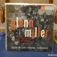 Discos de vinilo: LP JAZZ UK 60S LP BUEN ESTADO TAPA ADHESIVO GLENN MILLER. Lote 264424224