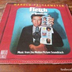 Disques de vinyle: HAROLD FALTERMEYER - FLETCH CAMALEON BANDA SONORA ORIGINAL - MAXISINGLE ORIGINAL WARNER ESPAÑA 1985. Lote 264430509
