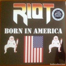 Discos de vinilo: RIOT - BORN IN AMERICA. Lote 264440459