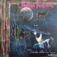 Disques de vinyle: MEDINA AZAHARA. DONDE ESTÁ LA LUZ. AVISPA 1993.. Lote 264442209