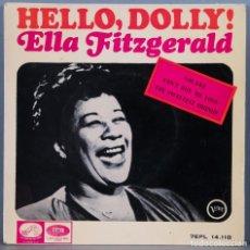 Discos de vinilo: EP. ELLA FITZGERALD. HELLO DOLLY. Lote 264444119