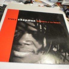 Disques de vinyle: LP TRACY CHAPMAN. MATTERS OF THE HEART. ELEKTRA 1992 GERMANY FUNDA FOTO Y LETRAS (PROBADO, SEMINUEVO. Lote 264468874