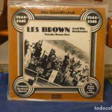 Discos de vinilo: LP JAZZ ALEMANIA 70S BUEN ESTADO LES BROWN AND ORCHESTRA WITH DORIS DAY. Lote 264469909