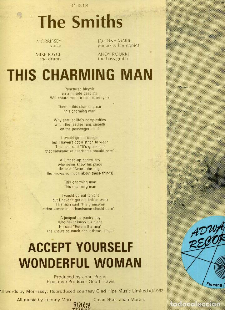 Discos de vinilo: THE SMITHS - THIS CHARMING MAN - Foto 2 - 264490894