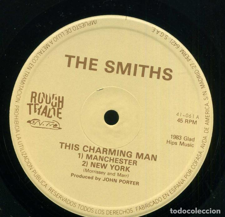 Discos de vinilo: THE SMITHS - THIS CHARMING MAN - Foto 3 - 264490894