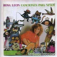 Discos de vinilo: EP. ROSA LEÓN. CANCIONES PARA NIÑOS. JUGANDO AL ESCONDITE; A MI BURRO...RF-8739. Lote 264525154