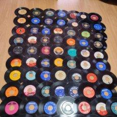 Dischi in vinile: LOTE COLECCION 70 DISCOS VINILO 7 EP SINGLE VARIADO LEER SIN CARPETA ESPAÑOLES Y EXTRANJEROS. Lote 264546794
