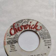 Discos de vinilo: ROCKY SHARPE & THE REPLAYS- RAMA LAMA DING DONG-CUANDO LAS COSAS VAN MAL WHEN THE CHIPS ARE DOWN. Lote 264548444