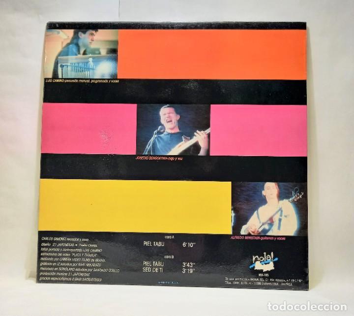 """Discos de vinilo: 21 JAPONESAS - PIEL TABU. VINILO (Maxi-Single, 12""""). NOLA. CCM2 - Foto 2 - 264548609"""