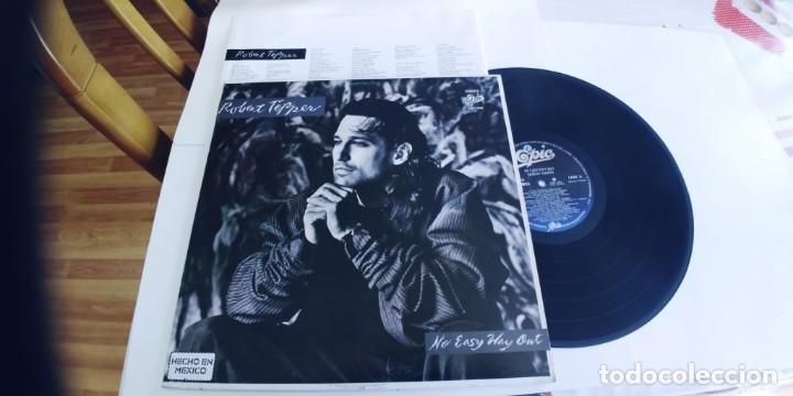 ROBERT TEPPER-LP NO EASY WAY OUT-ENCARTE LETRAS-NUEVO (Música - Discos - LP Vinilo - Rock & Roll)
