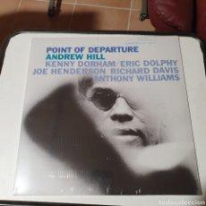 Disques de vinyle: LP, POINT OF DEPARTURE, ANDREW HILL, KENNY DORHAM, ETC.NUEVO, PRECINTADO ORIGINAL SIN ESTRENAR.. Lote 264557649