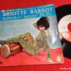 Discos de vinil: ROBERTO SETO Y SUS RUMBEROS BRIGITTE BARDOT/TUMBA LE LE/DOI...DOI +1 EP 1961 VOGUE/HISPAVOX SPAIN. Lote 264570354