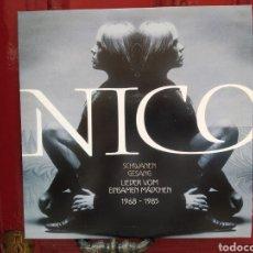 Discos de vinilo: NICO–SCHWANENGESANG - LIEDER VOM EINSAMEN MÄDCHEN 1968-1985 - LP VINILO NUEVO. Lote 264574104