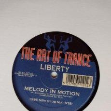Discos de vinilo: LIBERTY – MELODY IN MOTION. Lote 201372557