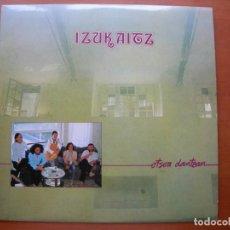 Disques de vinyle: IZUKAITZ / OTS0A DANTZAN / LP. Lote 264680894