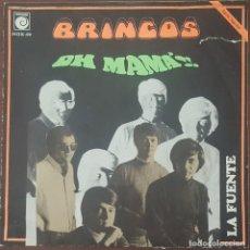 Discos de vinilo: SINGLE / LOS BRINCOS - OH MAMA!!,. Lote 264706019