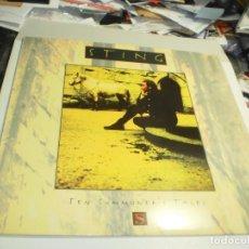 Disques de vinyle: LP STING. TEN SUMMONER'S TALES. AM RECORDS 1993 SPAIN CON INSERTO DE LETRAS (PROBADO, SEMINUEVO). Lote 264707154
