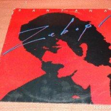 Discos de vinilo: LP SANTANA ZEBOP. Lote 264726264