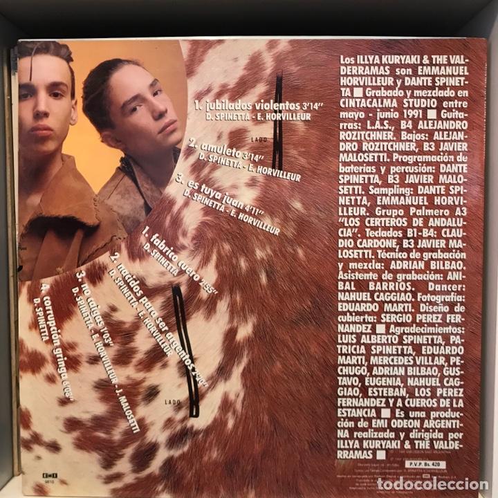 Discos de vinilo: Illya Kuryaki & The Valderramas – Fabrico Cuero VENEZOLANO - Foto 2 - 252370630