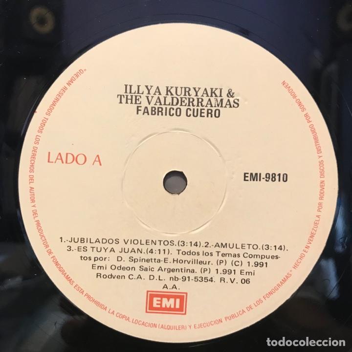 Discos de vinilo: Illya Kuryaki & The Valderramas – Fabrico Cuero VENEZOLANO - Foto 3 - 252370630