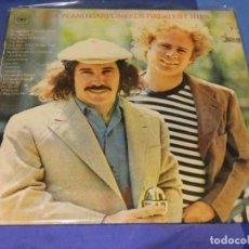 Discos de vinilo: LP DESDE DOS EUROS A TU RIESGO SIMON AND GARFUNKEL GRANDES EXITOS SOBADILLO NO RAYONES DRAMATICOS. Lote 264776669