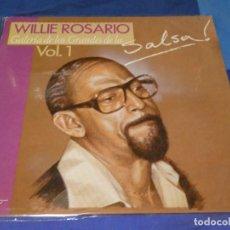 Discos de vinilo: LP WILLIE ROSARIO GALERIA DE LOS GRANDES DE LA SALSA VOL 1. Lote 264776899
