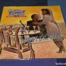 Discos de vinilo: LP SALSA MANZANA RECORDS SEÑALES MENORES USO RAPHY LEAVITT PRVOCAME DECENTE. Lote 264778479