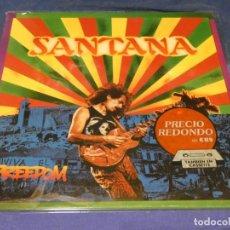 Discos de vinilo: LP ALEMANIA 1987 SANTANA FREEDOM MUY BUEN ESTADO. Lote 264779809