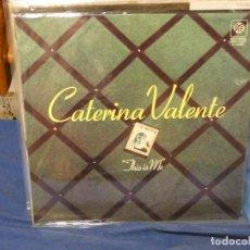 Discos de vinilo: LP ESPAÑA 1976 CATERINA VALENTE THIS IS ME, ESTADO GENERAL CORRECTO. Lote 264783059