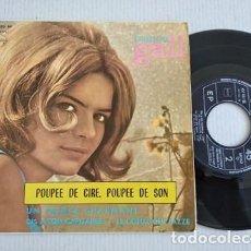 Discos de vinil: FRANCE GALL – POUPÉE DE CIRE, POUPÉE DE SON EP SPAIN 1965 EUROVISION. Lote 264786149