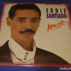 Discos de vinilo: LP SALSA EDDIE SANTIAGO ATREVIDO BUEN ESTADO GENERAL. Lote 264786949