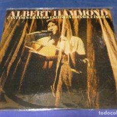 Discos de vinilo: LP ALBERT HAMMOND EXITOS EN ESPAÑOL Y EN INGLES BUEN ESTADO GENERAL. Lote 264787304